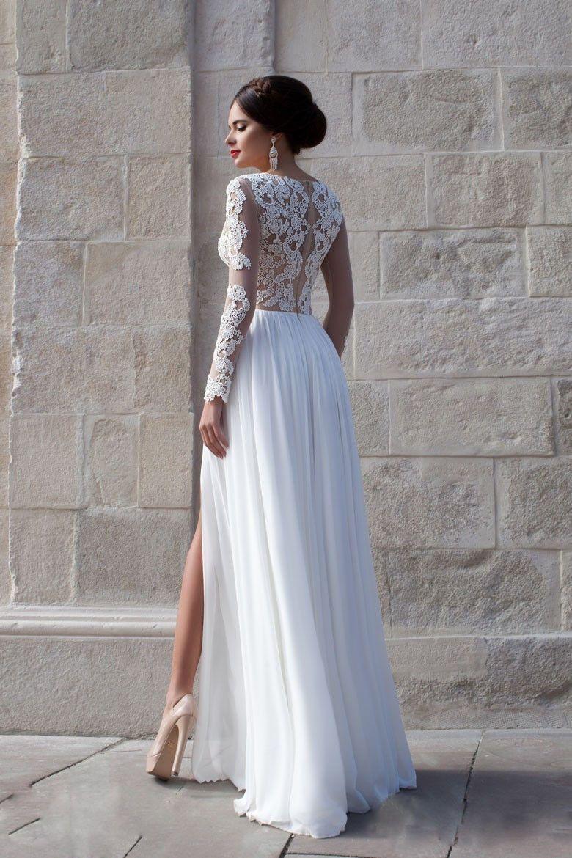 Evening Beach Wedding Dresses