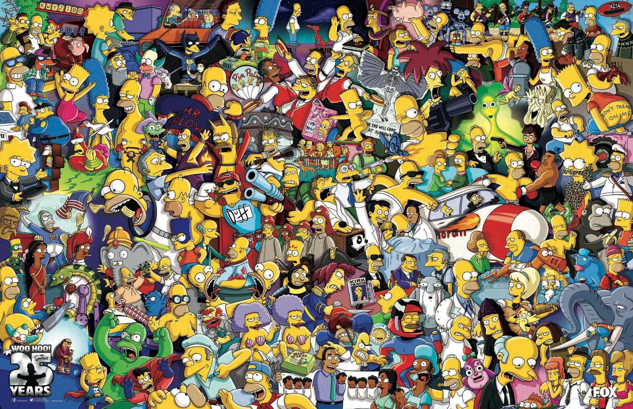 The Simpsons Wallpaper Hd HD Wallpapers Pinterest Wallpaper