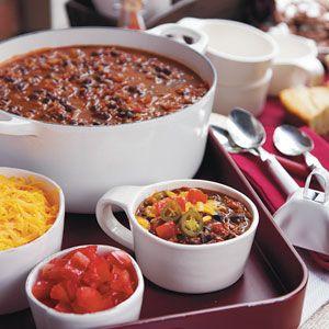 Top Tailgating Treats of the SEC   Black bean chili, Bean ...