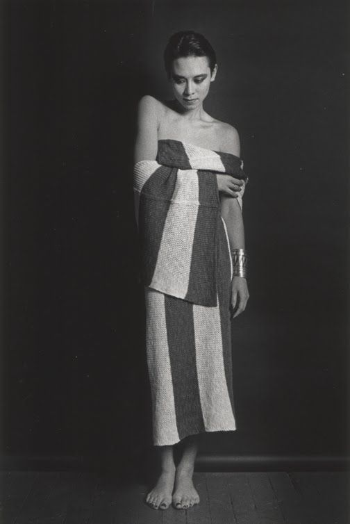 Marcus Leatherdale pour Issey Miyake 1983