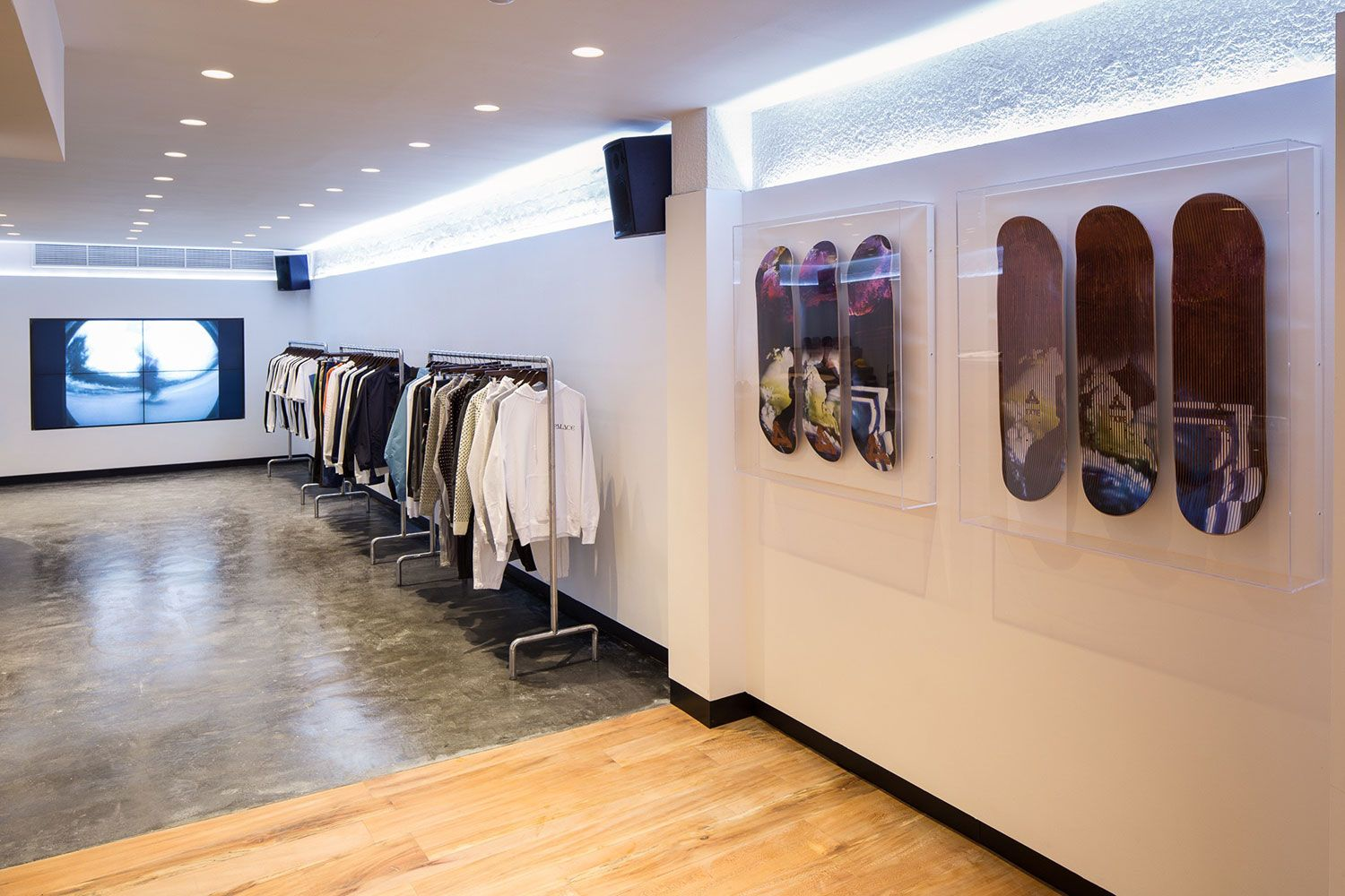 A Look Inside Palace Skateboards  New London Flagship Store  f9cf7f30c2cc