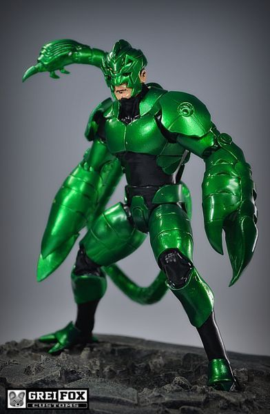 Scorpion 3rd Armor (Marvel Legends) Custom Action Figure ...