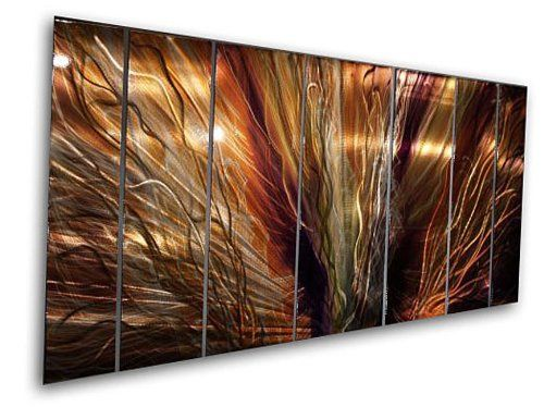 Metal Wall Art by Ash Carl Metal wall art Metal walls and Cosmic art