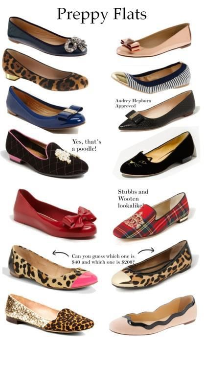 7ee8f08b560d0 Style Her Pretty with trending Preppy and Casual Flats! | тнιиgѕ I ...