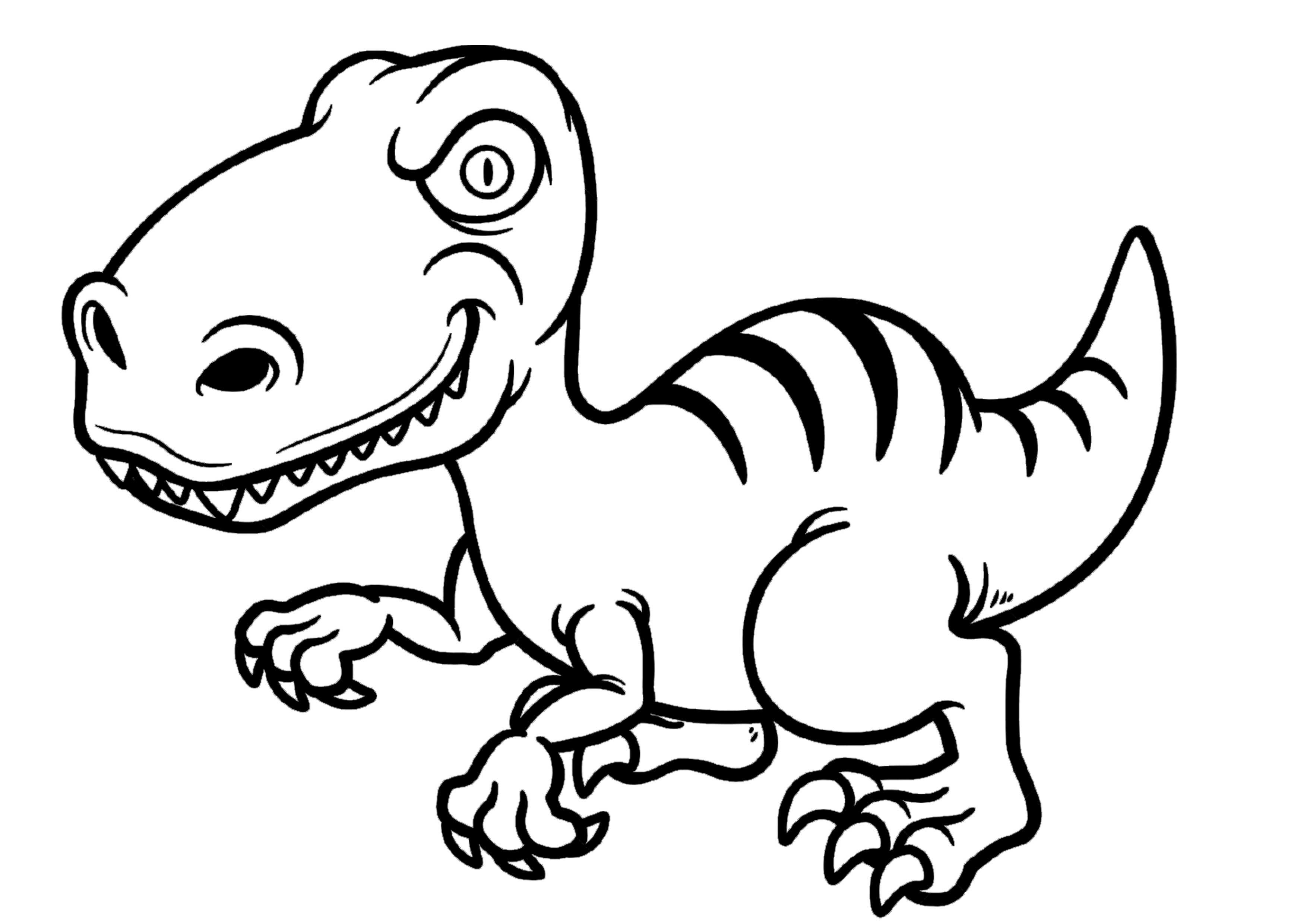 Dibujos Infantiles De Dinosaurios Para Colorear: Resultado De Imagen De Dinosaurios Para Colorear