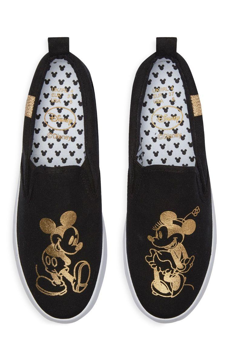 180dc782c2419 Primark - Ténis Minnie e Mickey Mouse