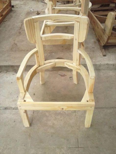 Esqueleto Estructura Silla Sillon Matero Con Brazos | Brazos ...