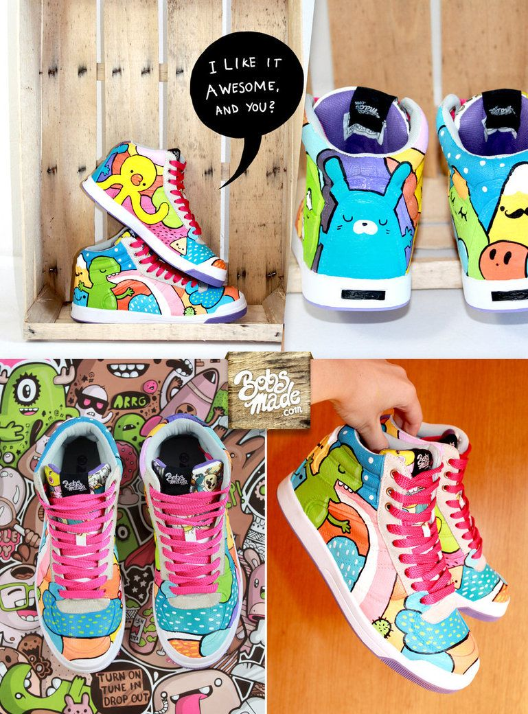 Color Flash Sneaker by Bobsmade- like it!
