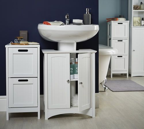 Delightful Shaker Style Bathroom Under Sink Unit