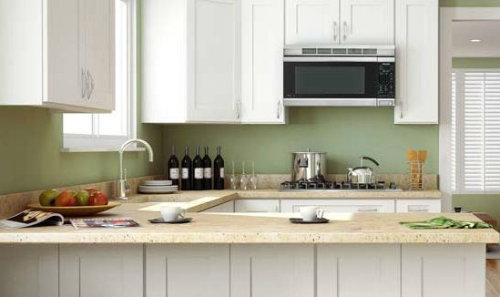 Kitchen Cabinet Outlet In Queens NY U2013 Best Value For Any Budget | Home Art  Tile Kitchen And Bath Ice White Shaker Cabinets Will Make Any Kitchen Look  ...