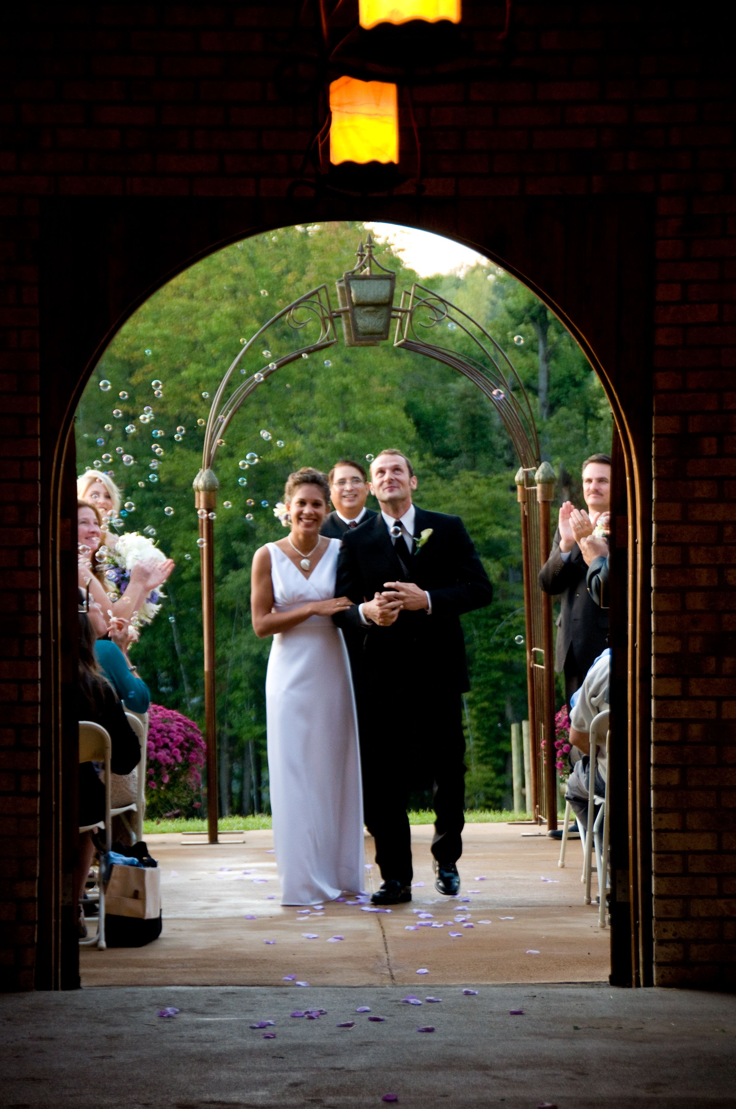 Just married at potomac point winery