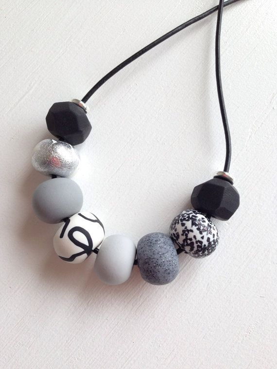 Hey, I found this really awesome Etsy listing at https://www.etsy.com/au/listing/237816742/monochromatic-necklace