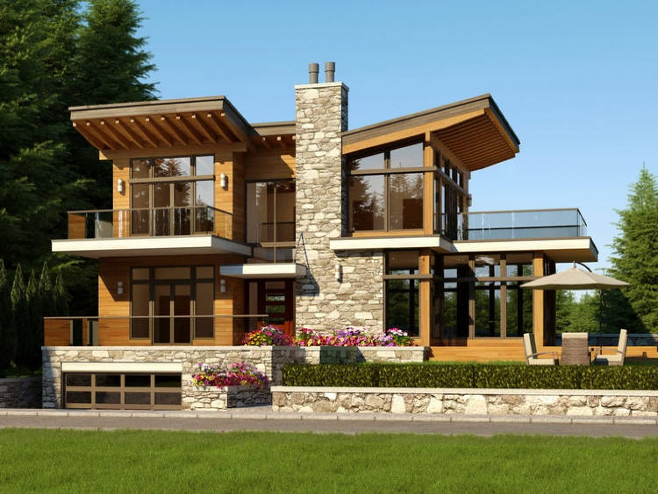Modern contemporary house plans uk