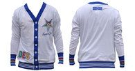 Order of the Eastern Star Cardigan Lightweight Cardigan-White