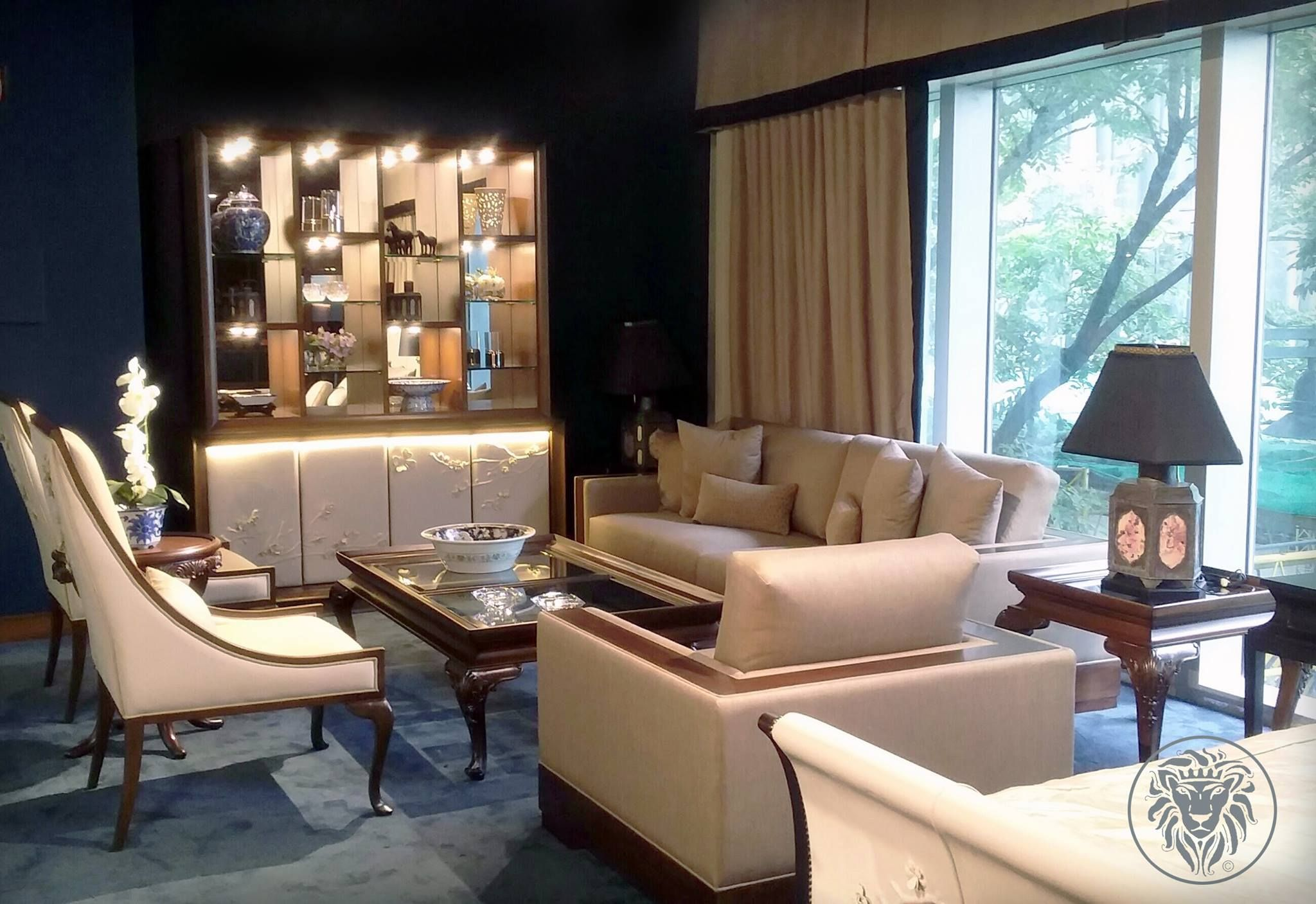 Thomas & George Fine Furniture | Huge master bedroom, Luxury furniture  stores, Eclectic master bedroom