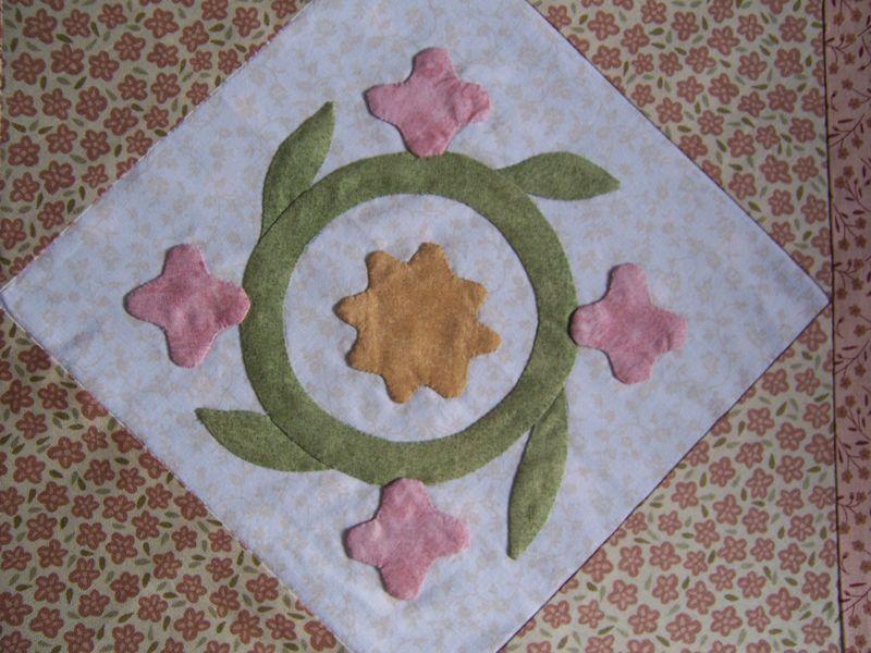 bloc_31 Sally Post quilt block