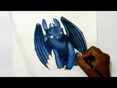 how to draw how to train your dragon 2