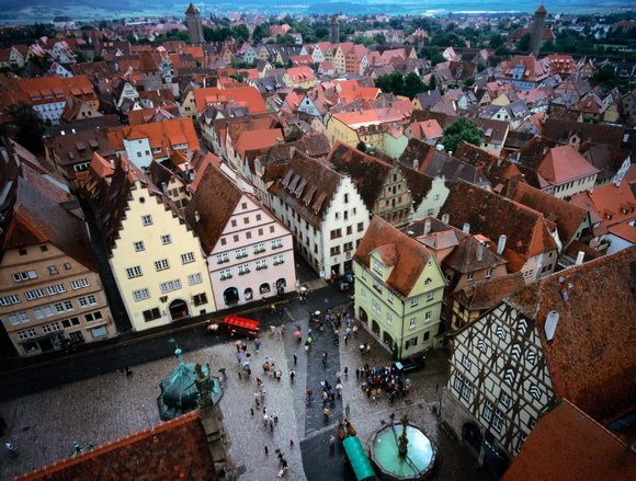 Rothenburg Ob Der Tauber Is A Town In The Franconia Region Of Bavaria Germany Well Known For Its Well Preserved Medieval Old Town A Desti Rothenburg Ob Der Tauber Germany Rothenburg Germany