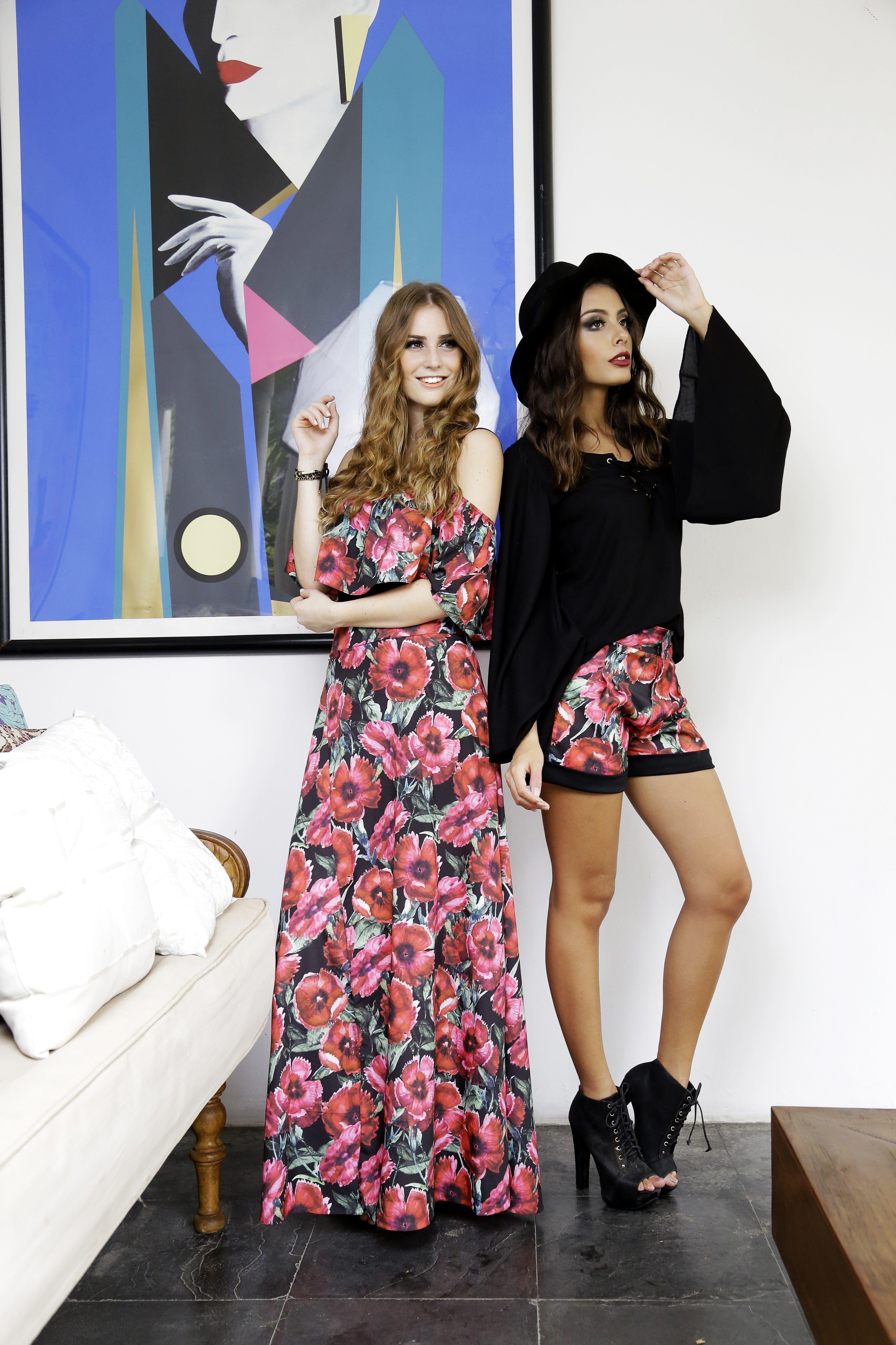 Coleção Inverno 2016 Bohemian   #estampa # Saialonga #body #papoulas #print #moda #fashion #design #estiloconjugal