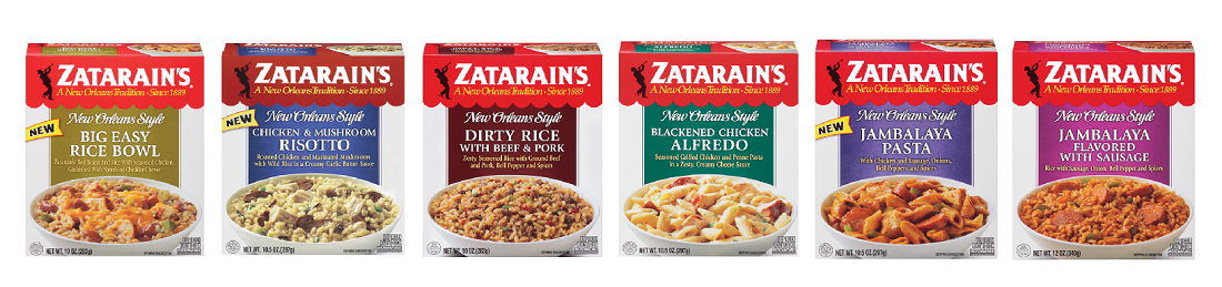 Bring The Spicy Flavors Of New Orleans To Your Table With Zatarain S Frozen Meals Jazz It Up With Zatarain S Single Serve Meals Frozen Entrees Frozen Meals