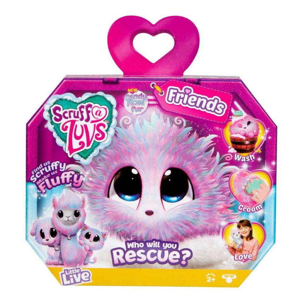 Little Live Scruff A Luvs Single Pack Candy Floss Animal Rescue Toys Uk All Toys