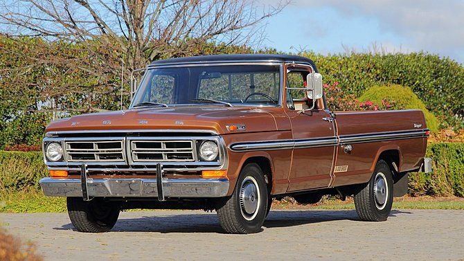 1972 ford f100 pickup ford f100 for sale ford trucks pinterest