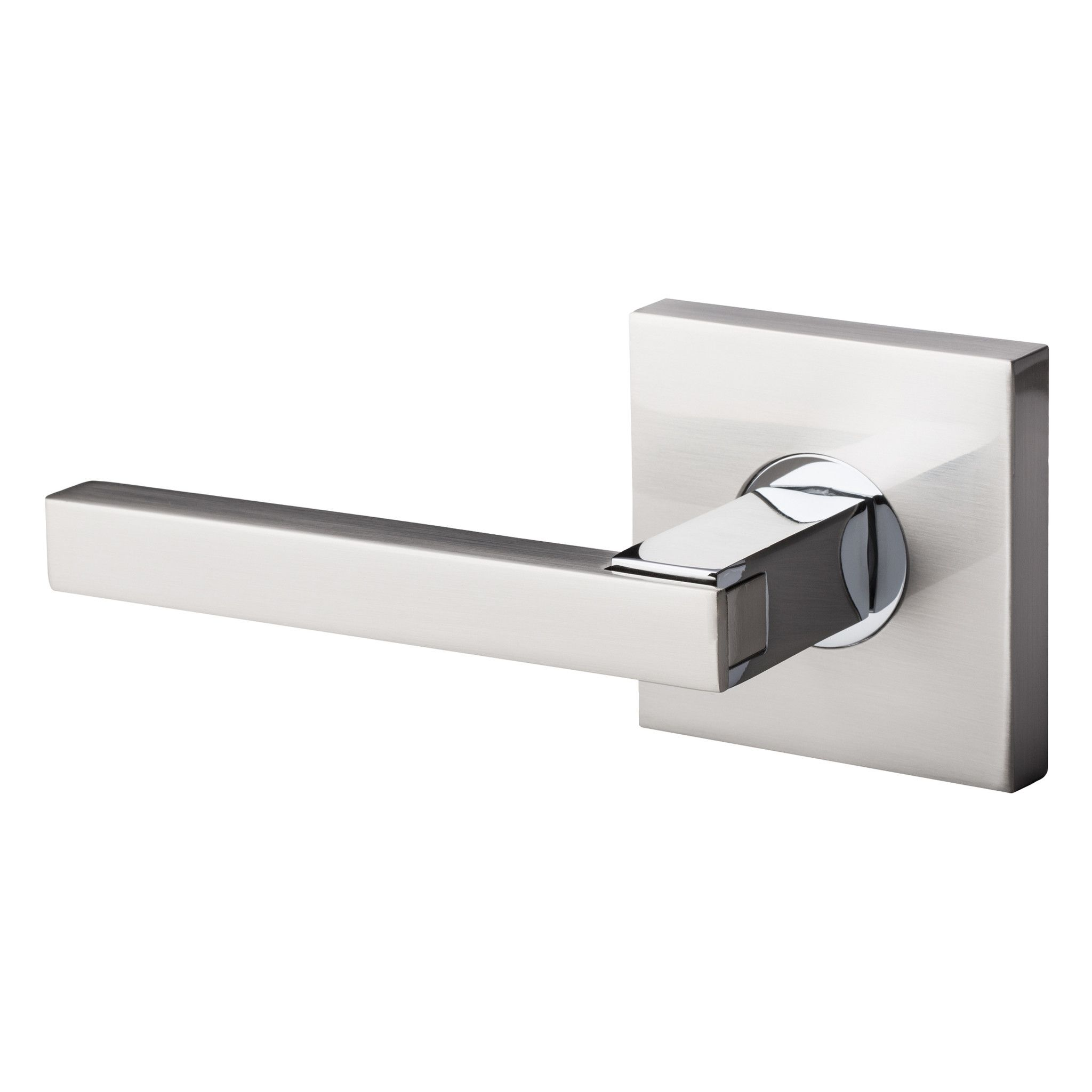 Bai 3016 Inactive Dummy Modern Door Lever Handle Set