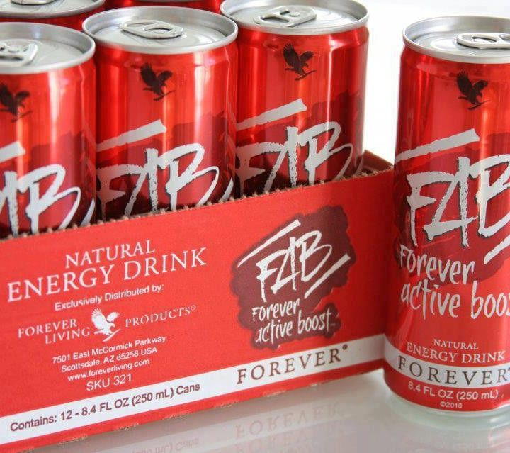 Forever Active Boost Great Tasting Energy Drink With A