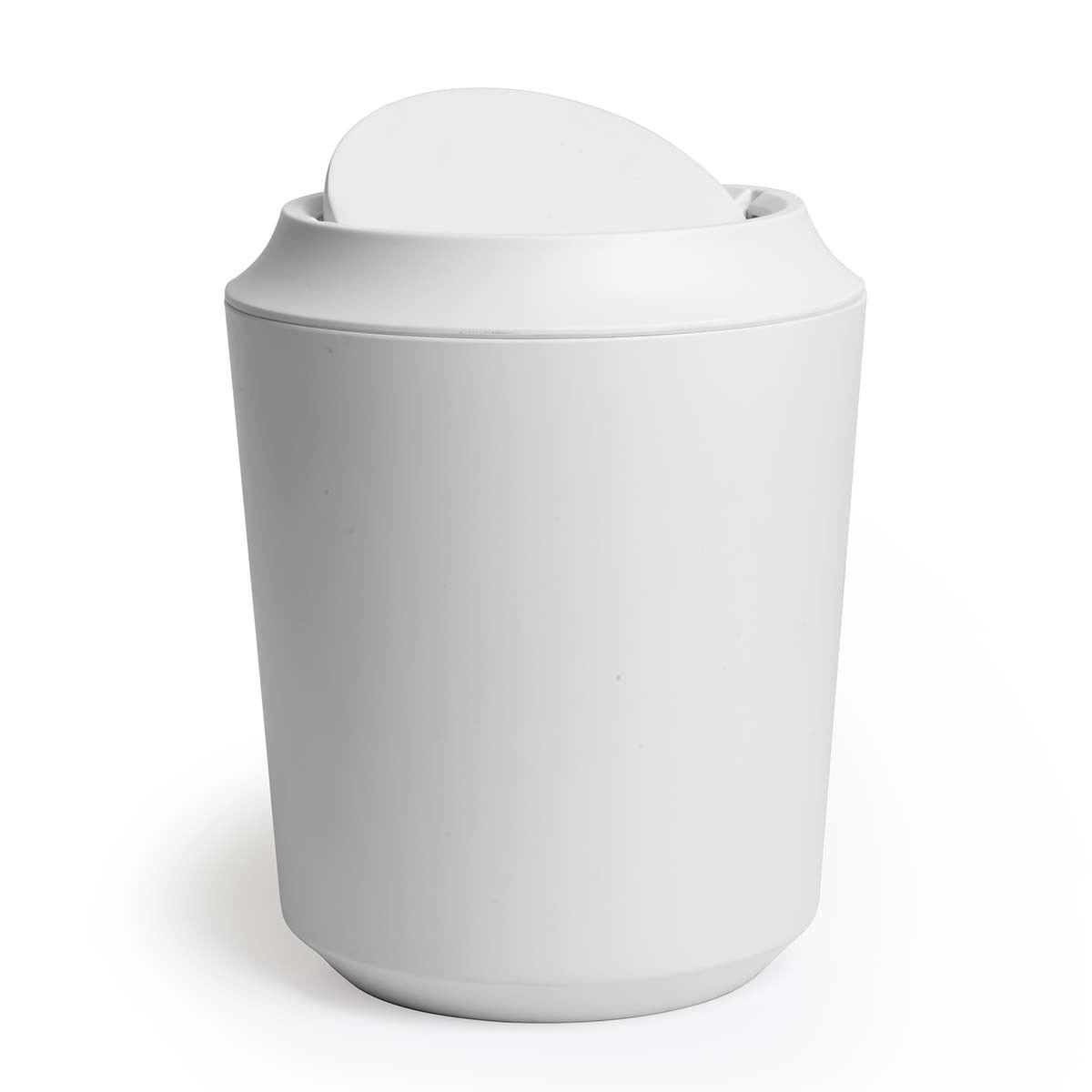 Umbra Corsa Kera Bathroom Waste Bin With Lid Bathroom Trash