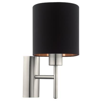 Eglo Pasteri Ip20 Czarna (95052) Kinkiety Pinterest - lampe für küche