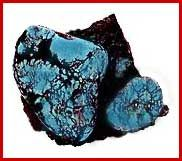 Blue Warrior   The Blue Warrior mine produces a beautiful mid to deep blue turquoise with a tight spiderweb matrix.