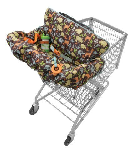Amazon Com Infantino Compact 2 In 1 Shopping Cart Cover Baby My