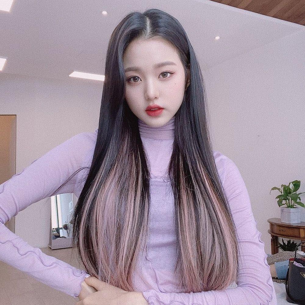 Wonyoung Pm Di 2020 Warna Rambut Ide Warna Rambut Gaya Rambut