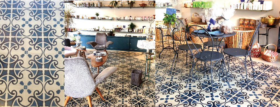 Blatt Chaaya In Lebanon Traditional Tiles Restaurant Flooring