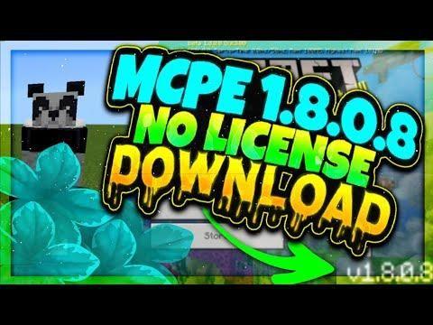 minecraft 1.8 apk no license