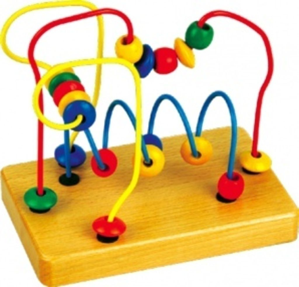 Игрушка развивающая деревянная