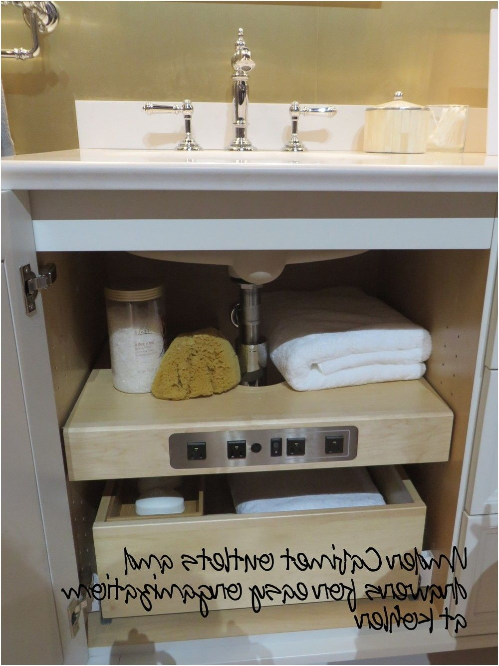 using kitchen cabinets in bathroom alkamedia from Using ...