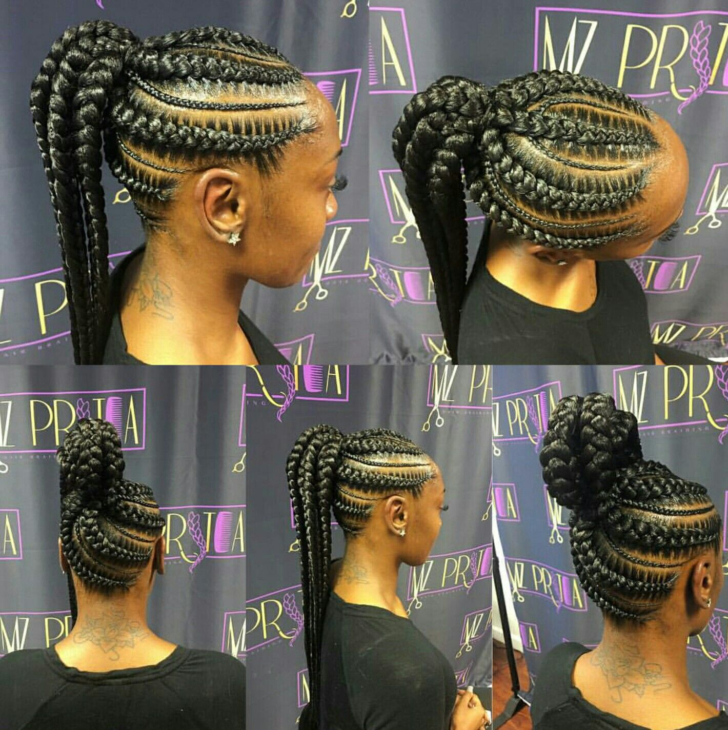 Cornrow up do by mzpritea braids pinterest cornrow and hair style