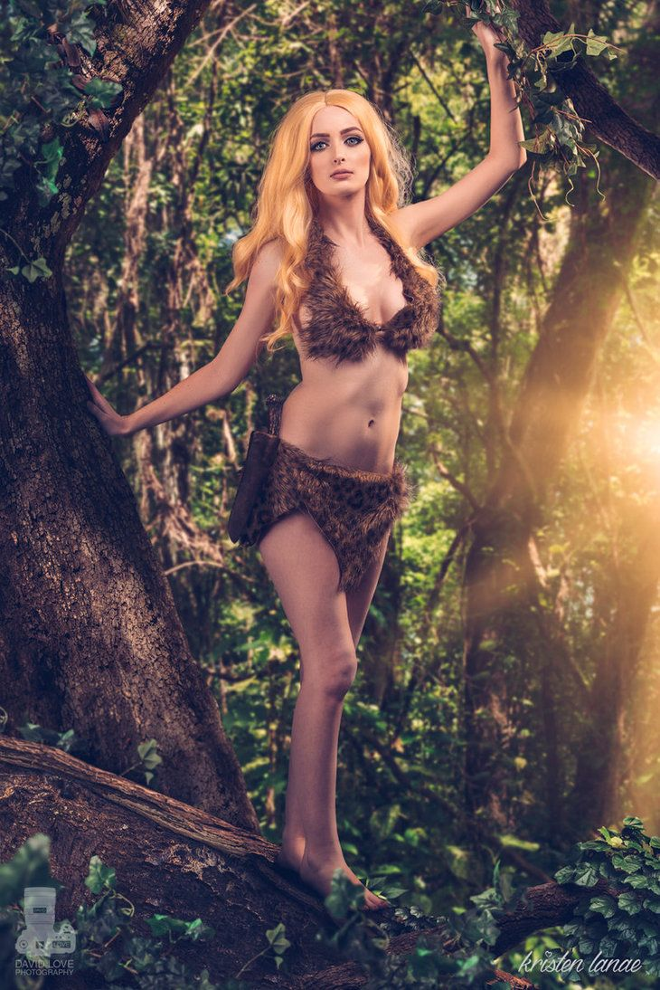 Sheena, Queen of the Jungle #cosplay by Kristen Lanae ...