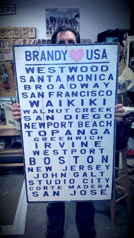 Shopping Trip Anyone Brandy Melville Signs Weathered Madera