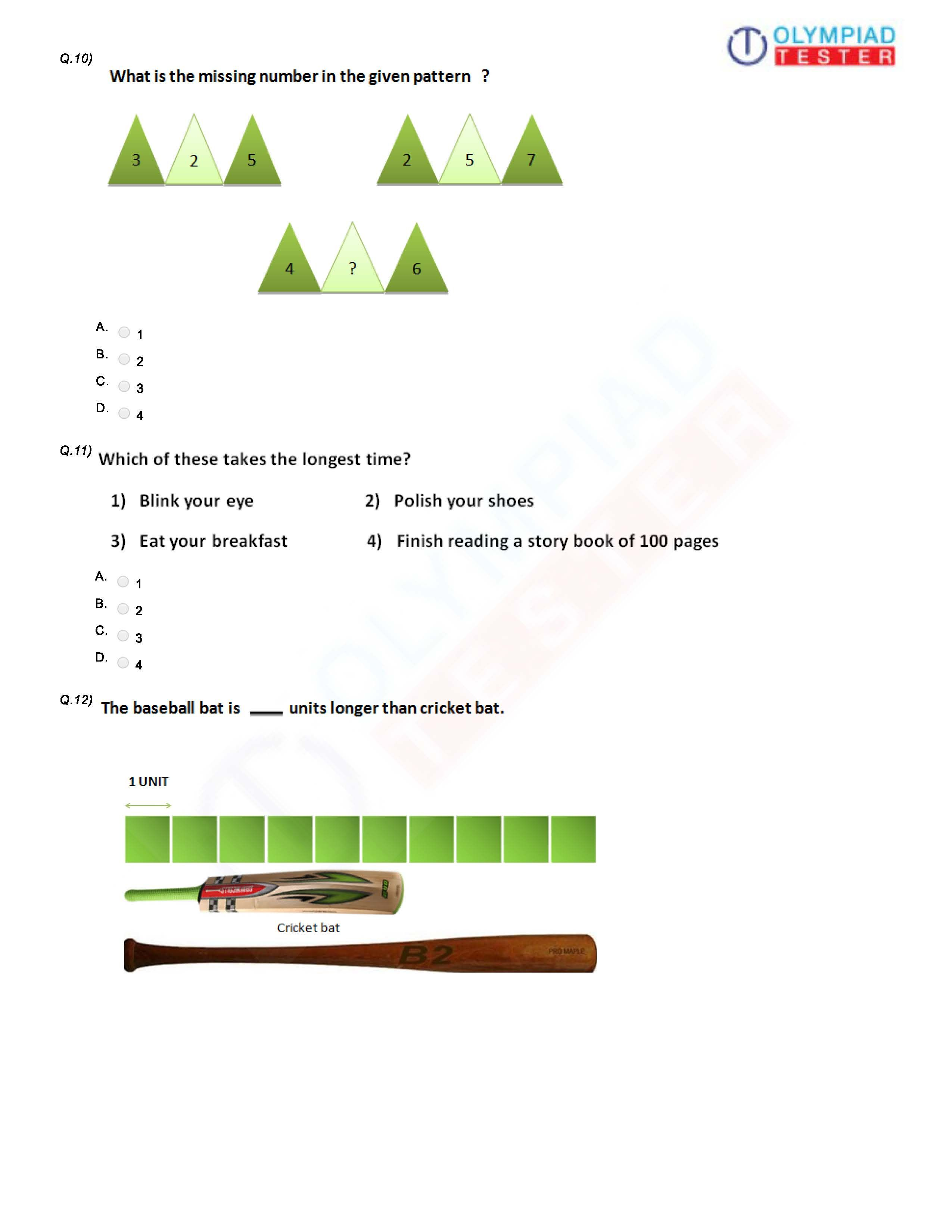 Class 1 Logical Reasoning For Olympiad Preparation 1st Grade Worksheets Mental Maths Worksheets Worksheets For Class 1