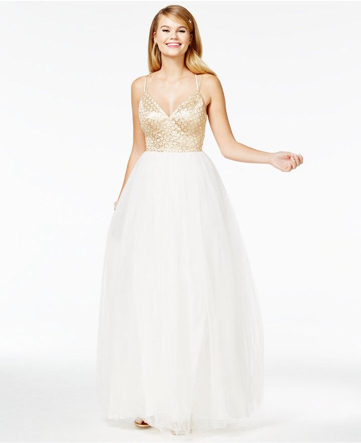 Macy's Prom Dresses with Tulle