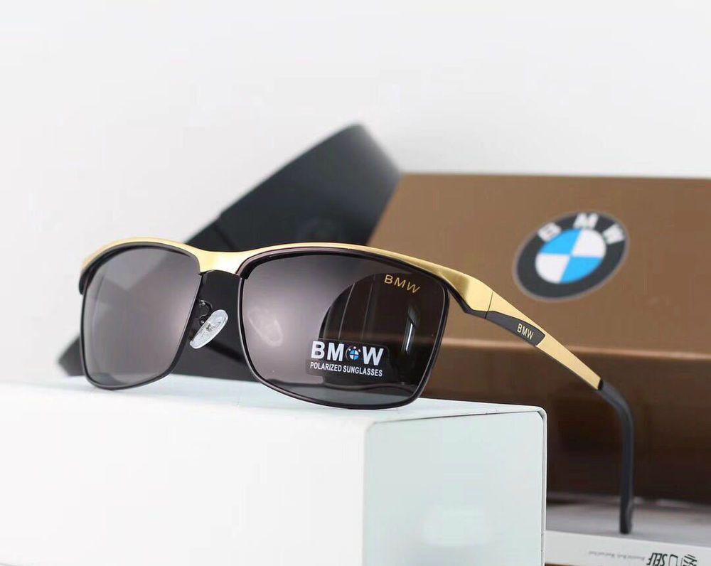 bd43a06ba9 gafas sol hombre bmw design polarizada y protec 100% UV400 original box  golden