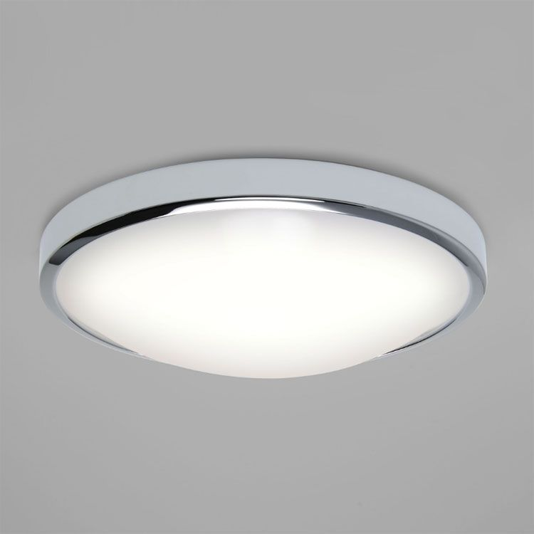 Buy this astrolighting osaka led bathroom ceiling light 16w 2700k in polished chrome and opal