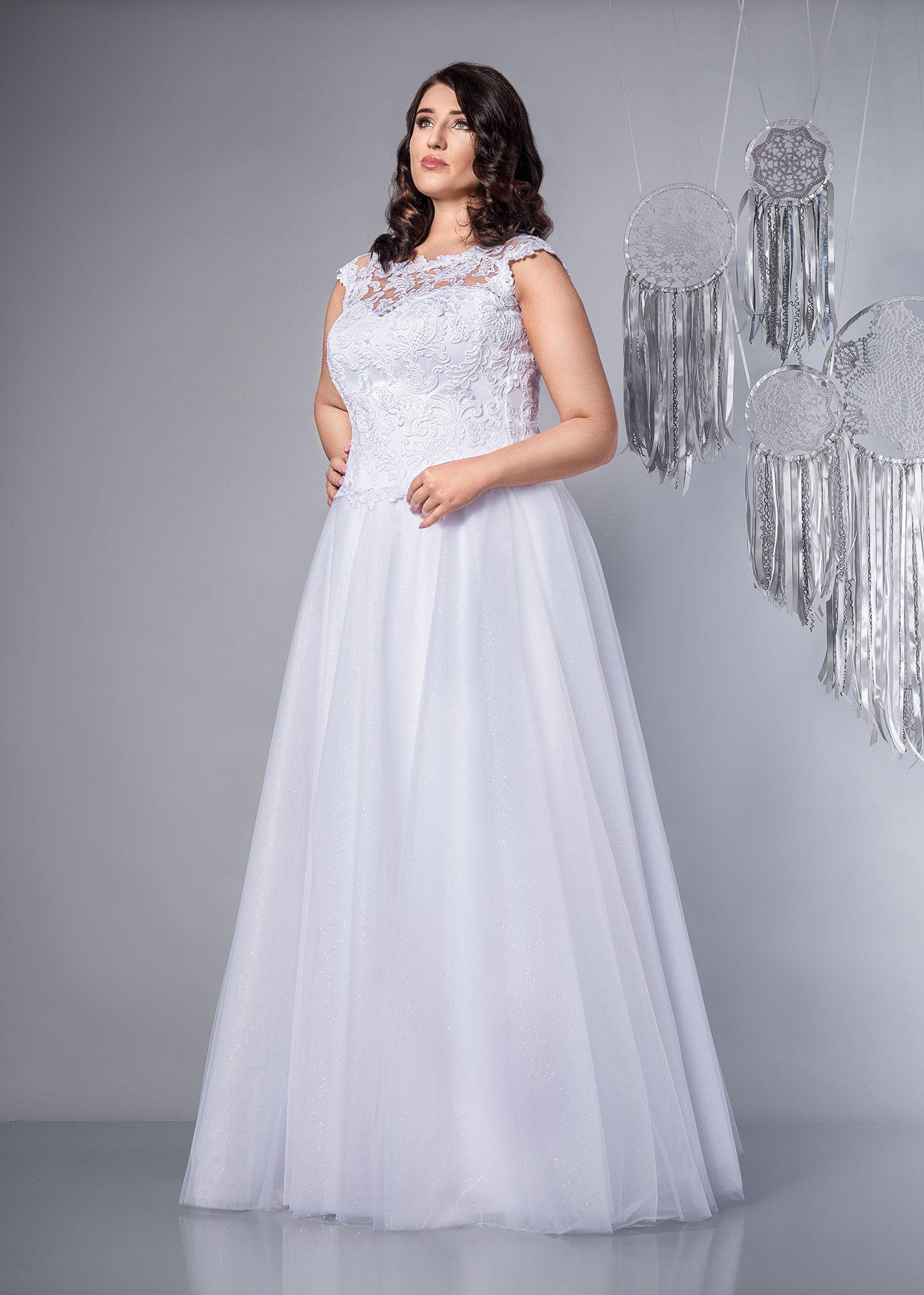 Virginia Suknia ślubna Plus Size Sukniaślubna Weddingdress
