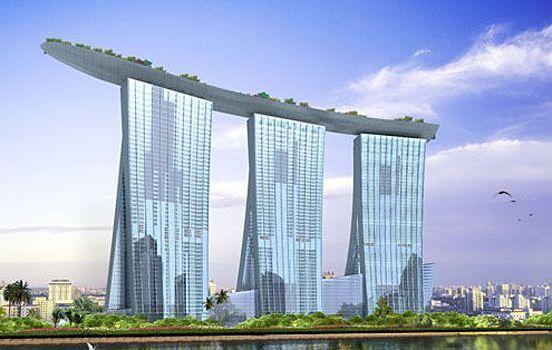 Singapore S Luxury Hotel Resort Marina Bay Sands The Design Inspiration