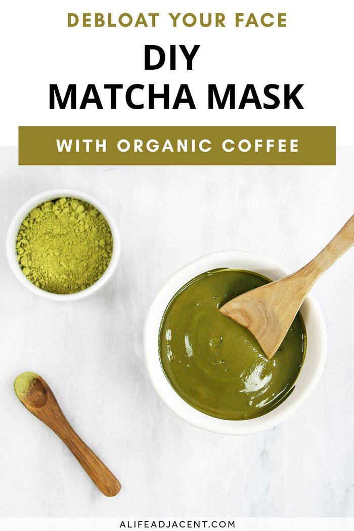 Photo of DIY Matcha Mask – Face Mask to Debloat a Puffy Face