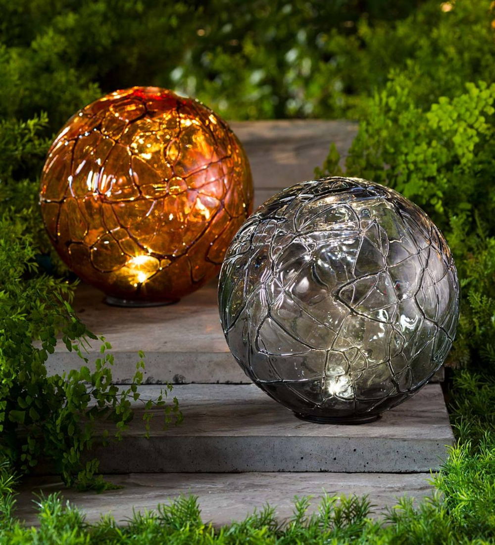 Add some intrigue to your garden with our Lighted Solar