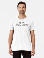 """Photo of """"Black Origami Swan"""" T-Shirt von PrintStopStudio, #Black #Origami #PrintStopStud…"""