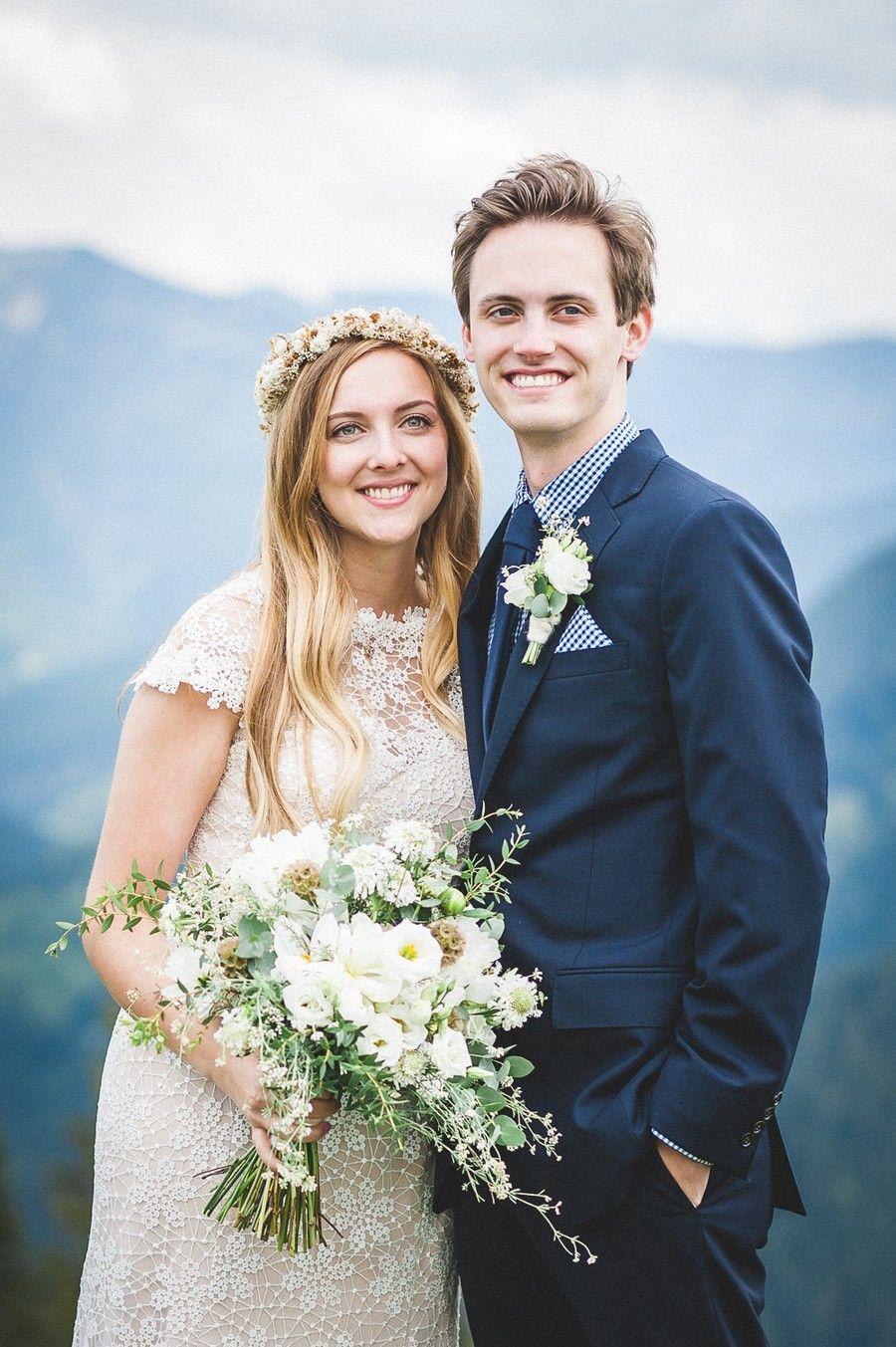 Hochzeit Zu Zweit Elopement Im Boho Stil Auf Dem Wallberg Hochzeit Marchen Fotografie Boho Stil